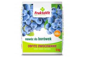 FRUKTOVIT Nawóz do Borówek Obfite Kwitnienie 5kg