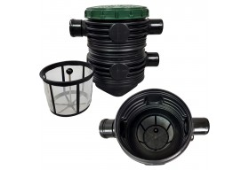 Aquabin Filtr przelewowy do wody deszczowej deszczówki filtr AB