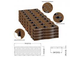 Garantia płyty ogrodowe panele ścieżka ogrodowa Maxi 4 szt.