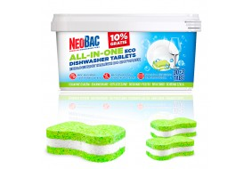 NeoBac Ekologiczne tabletki do zmywarki 30+3 szt