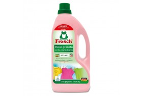 FROSCH Żel do prania tkanin kolorowych Owoc Granatu 1,5l