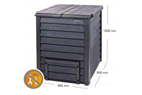 Garantia Kompostownik THERMO WOOD 600L stylizowany drewno