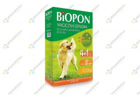 Biopon magiczna odnowa trawnika przez psa