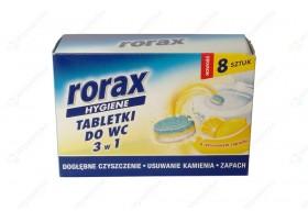 Rorax Tabletki do WC 3w1