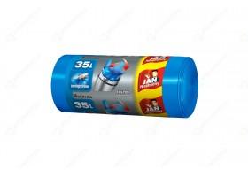 Jan Niezbędny Worki na śmieci Easy Pack niebieskie 35l zawiązywane 30 szt