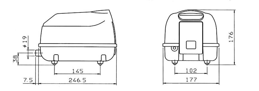 secoh-dmuchawa-sll-30-wymiary